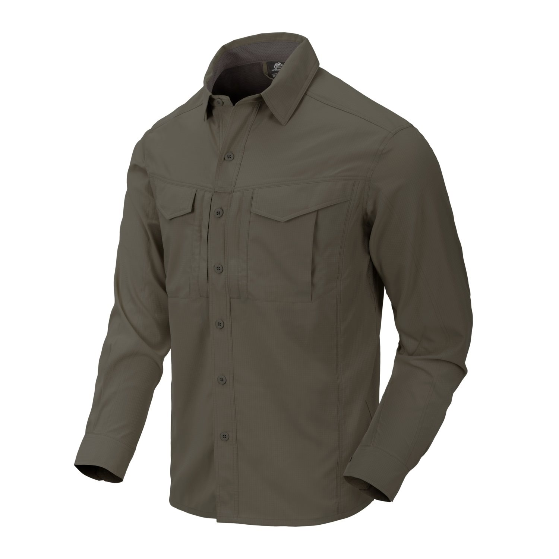 Košile DEFENDER MK2 TROPICAL DARK OLIVE Helikon-Tex® KO-DTR-PS-70 L-11