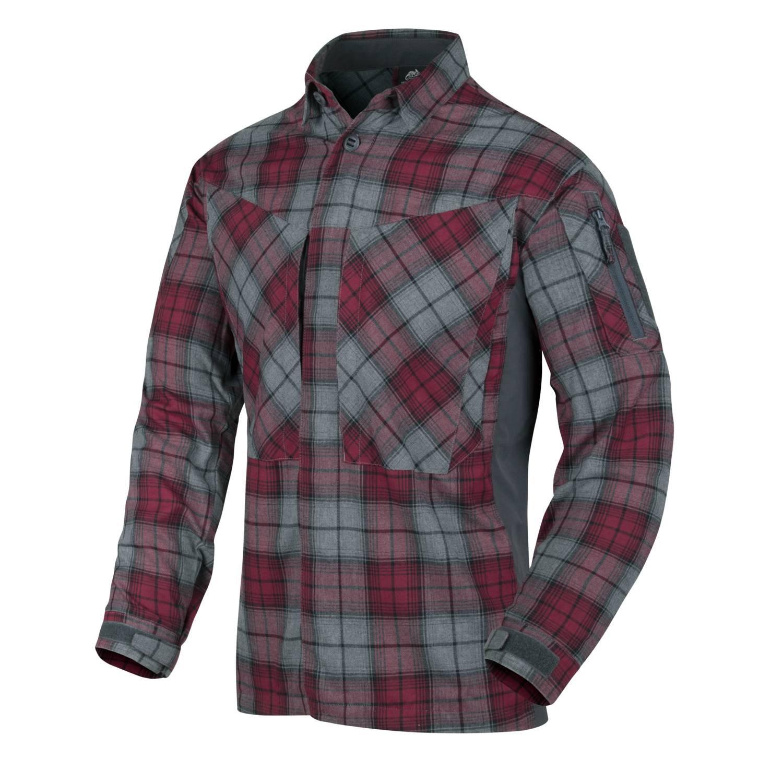 Košile MBDU flanel RUBY PLAID Helikon-Tex® KO-MBD-PO-P1 L-11