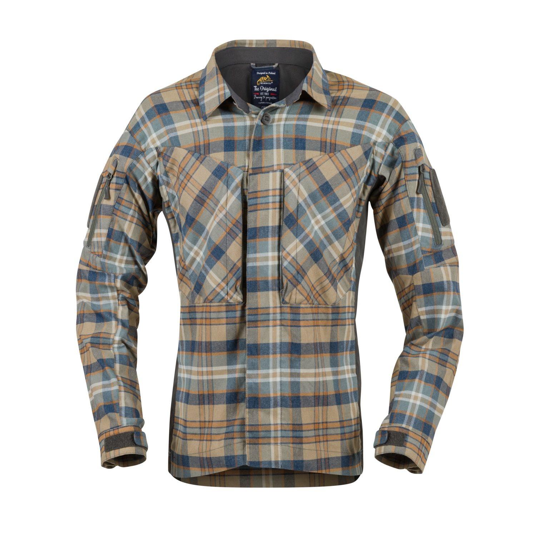 Košile MBDU flanel GINGER PLAID Helikon-Tex® KO-MBD-PO-P2 L-11