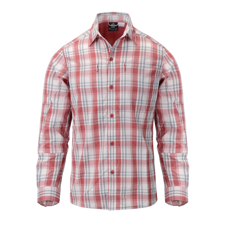 Košile TRIP dlouhý rukáv RED PLAID Helikon-Tex® KO-TRI-NB-P7 L-11