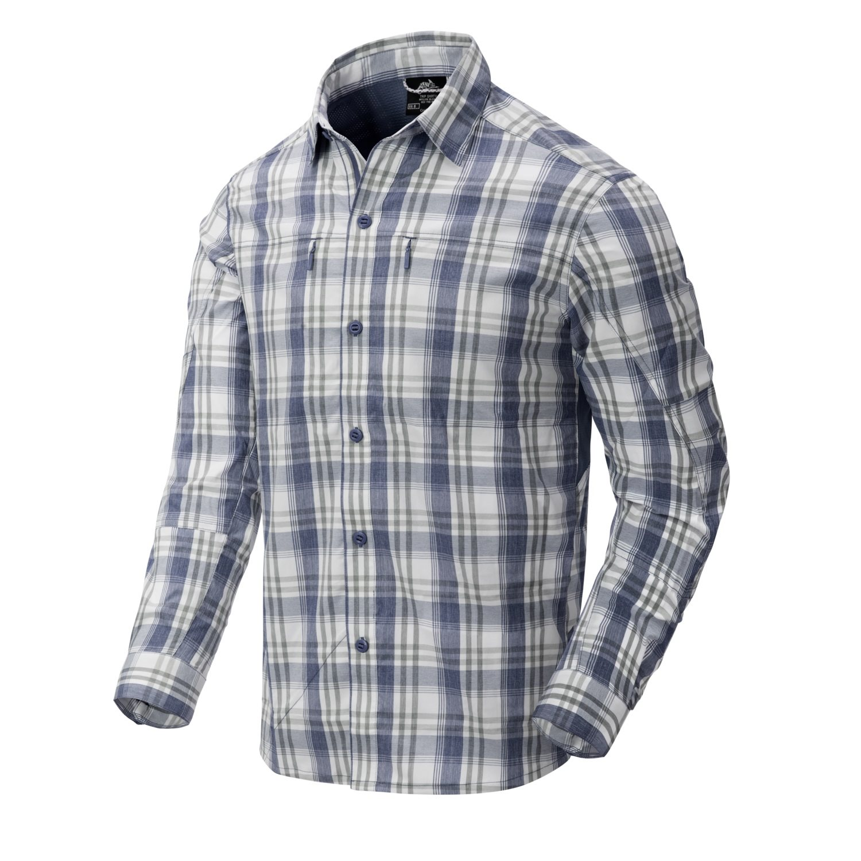 Košile TRIP dlouhý rukáv INDIGO PLAID Helikon-Tex® KO-TRI-NB-P8 L-11