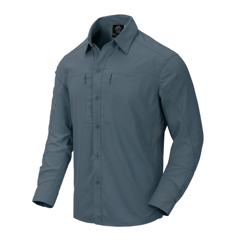 Košile TRIP dlouhý rukáv MARINE COBALT Helikon-Tex® KO-TRI-PS-94 L-11