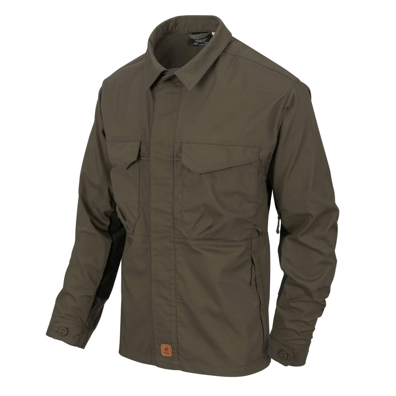 Košile WOODSMAN TAIGA GREEN/ČERNÁ Helikon-Tex® KO-WDN-DC-0901 L-11
