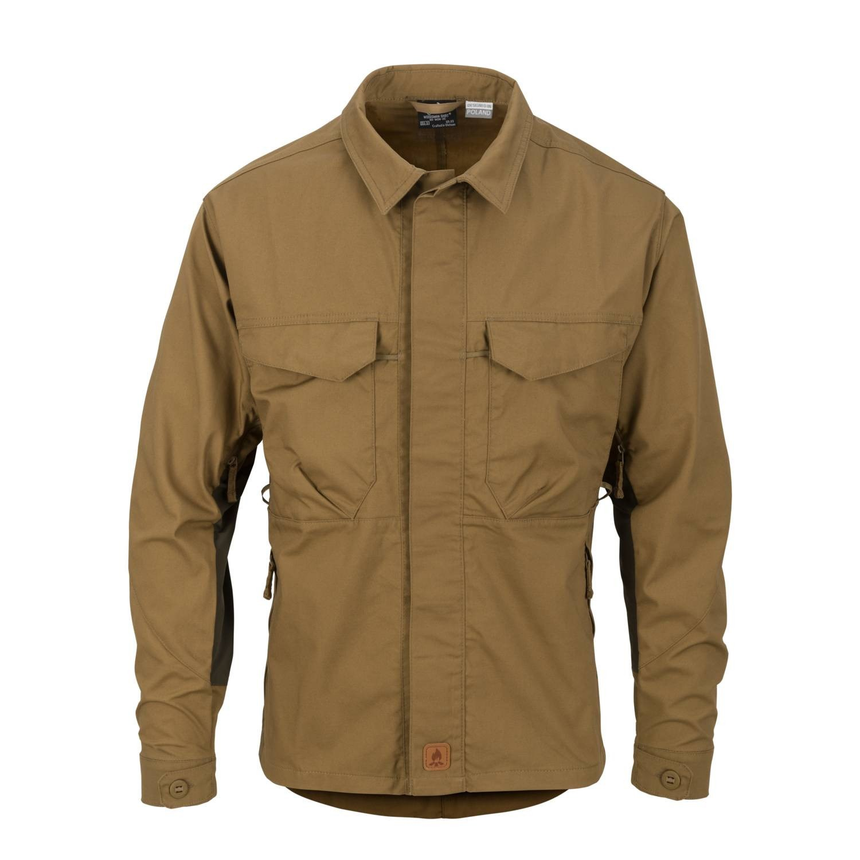 Košile WOODSMAN COYOTE/TAIGA GREEN Helikon-Tex® KO-WDN-DC-1109 L-11