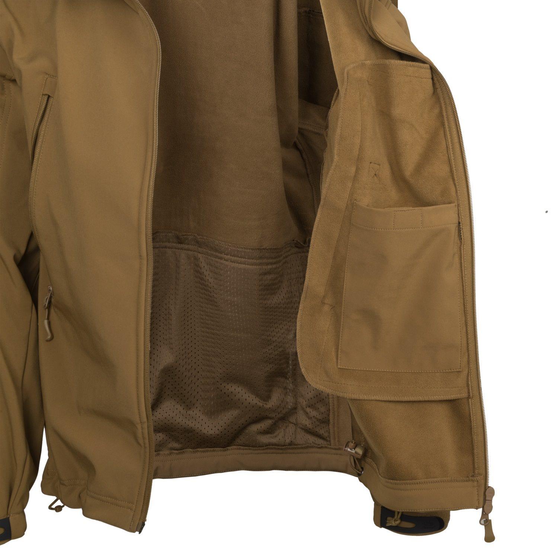 Bunda GUNFIGHTER Shark Skin COYOTE Helikon-Tex® KU-GUN-FM-11 L-11