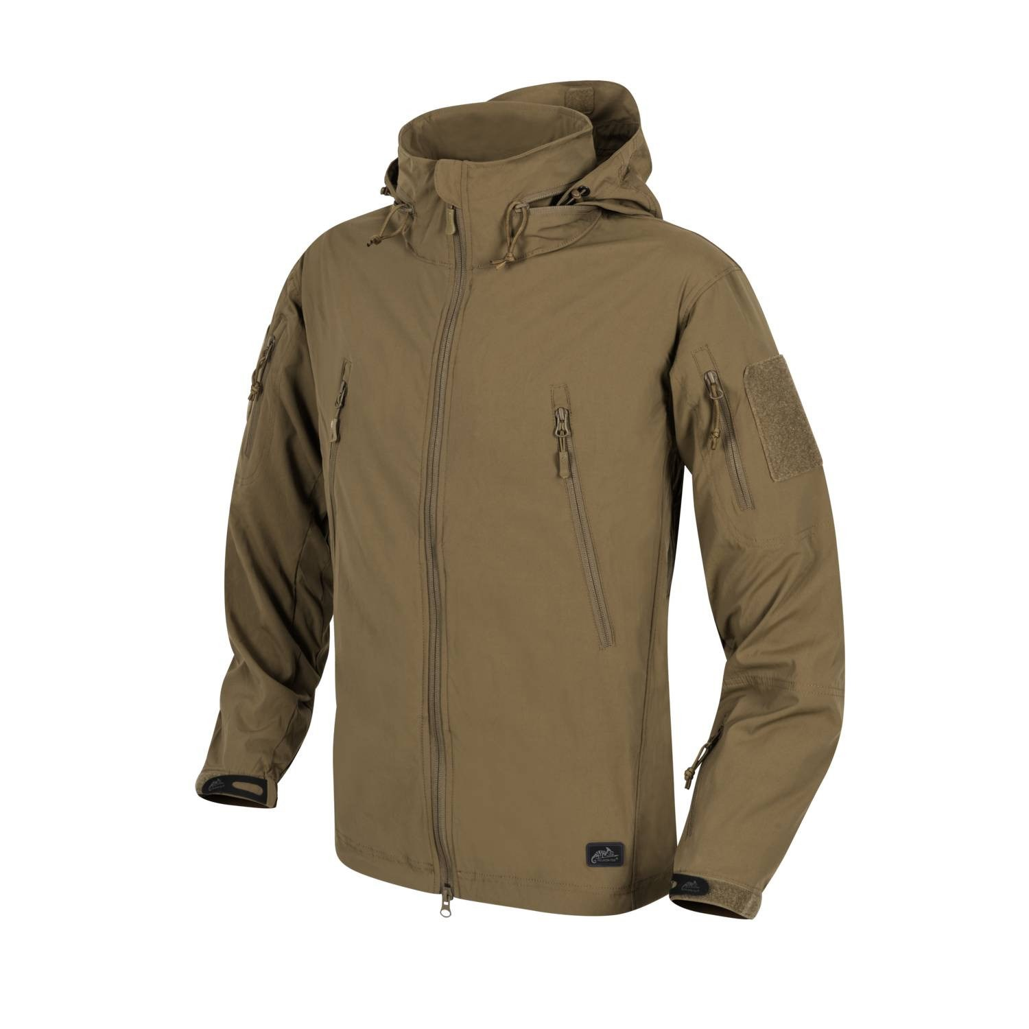 Bunda TROOPER softshell MUD BROWN Helikon-Tex® KU-TRP-NL-60 L-11