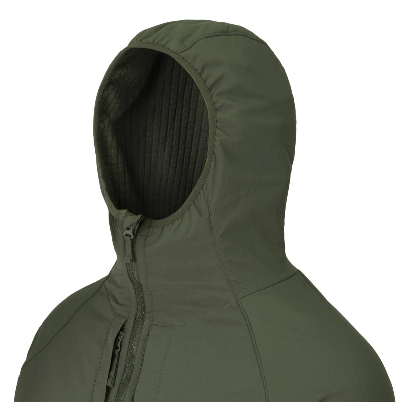 Bunda URBAN HYBRID softshell TAIGA GREEN Helikon-Tex® KU-UHS-NL-09 L-11