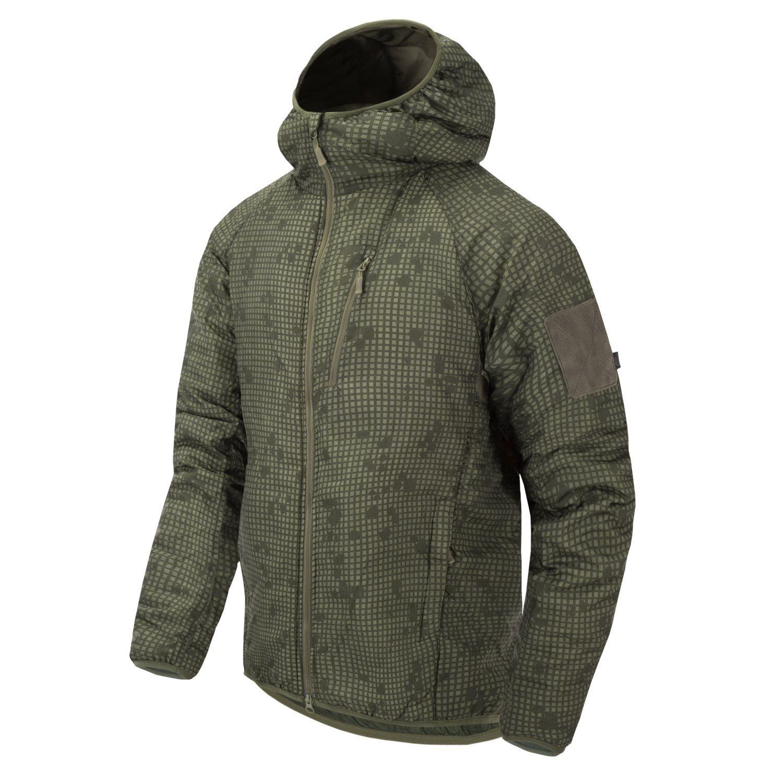 Bunda WOLFHOUND CLIMASHIELD® s kapucí DESERT NIGHT CAMO Helikon-Tex® KU-WLH-NL-0L L-11