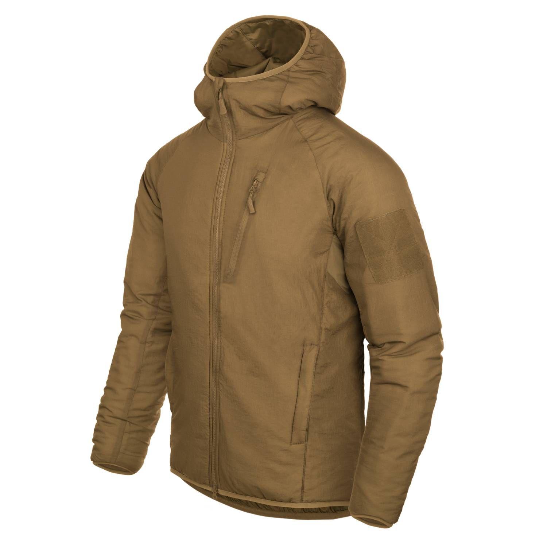 Bunda WOLFHOUND CLIMASHIELD® APEX 67G s kapucí COYOTE Helikon-Tex® KU-WLH-NL-11 L-11