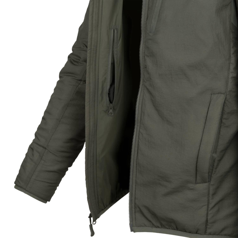 Bunda WOLFHOUND CLIMASHIELD® APEX 67G s kapucí ALPHA GREEN Helikon-Tex® KU-WLH-NL-36 L-11