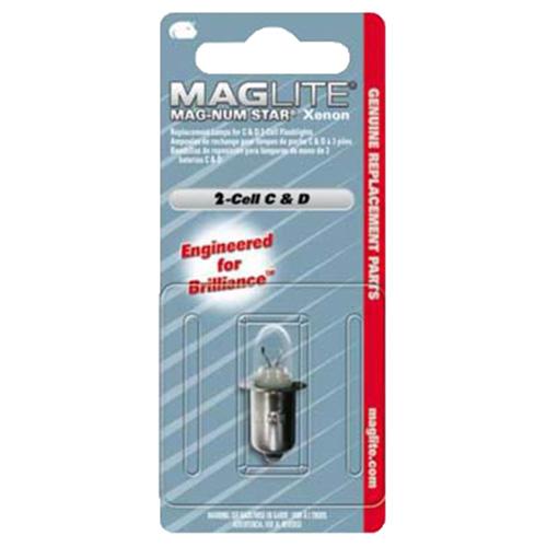 Žárovka XENON náhradní MAGLITE 3 C, D-CELL MAG-LITE LMSA301 L-11