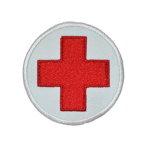 Nášivka zdravotník - červený kříž
