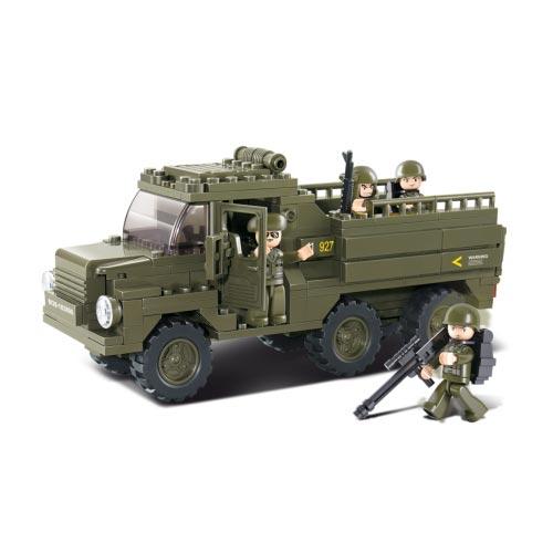 Stavebnice vozidla pro transport vojáků