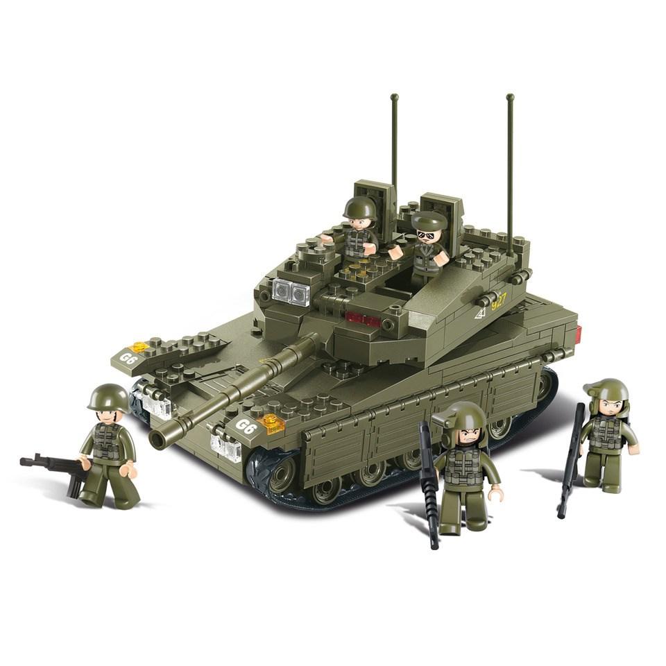 Stavebnice izraelského tanku MERKAVA