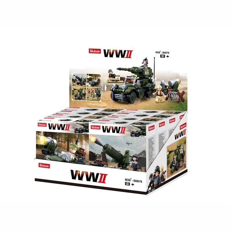 Stavebnice WWII SADA pro sběratele