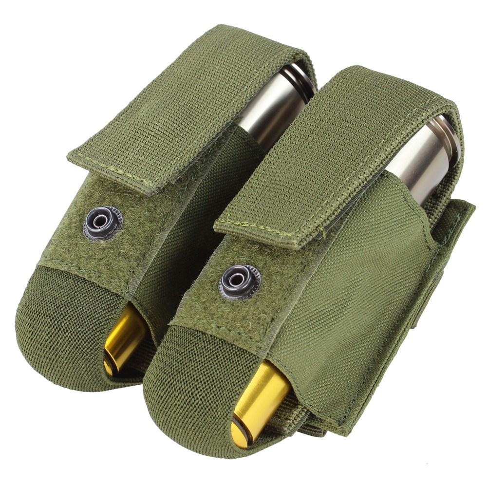 CONDOR OUTDOOR | Sumka MOLLE na dva 40mm granát. náboje ZELENÉ