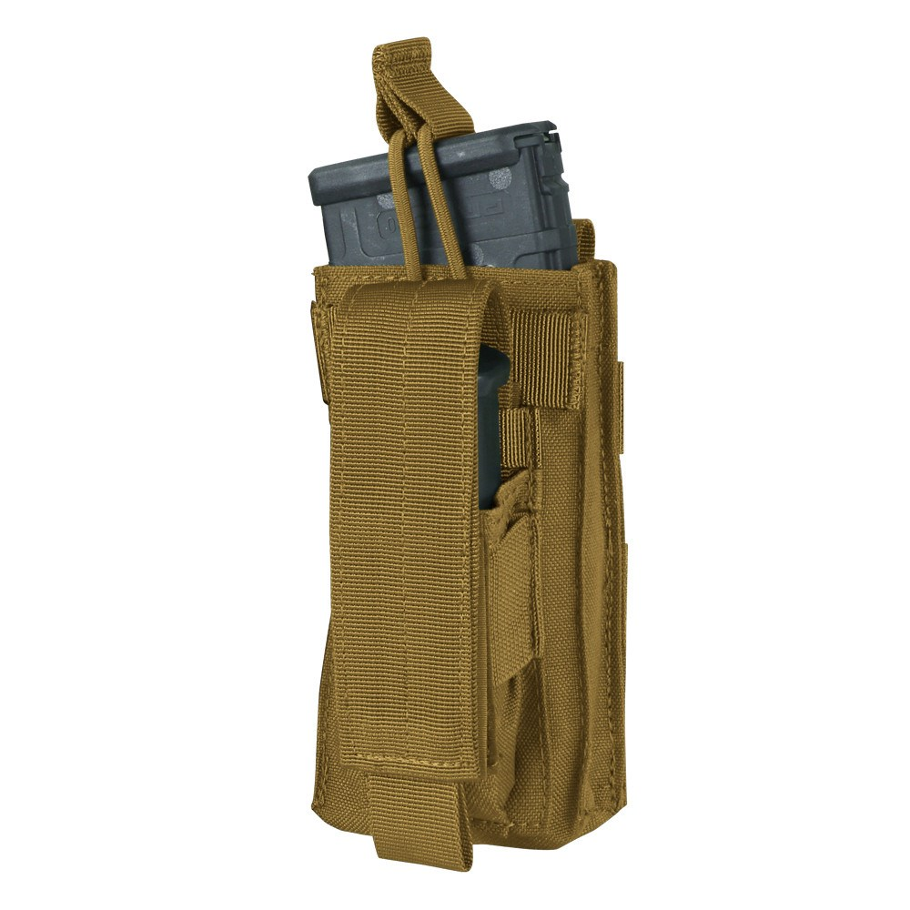 CONDOR OUTDOOR Sumka MOLLE KANGAROO na zásobník M4+M16 COYOTE