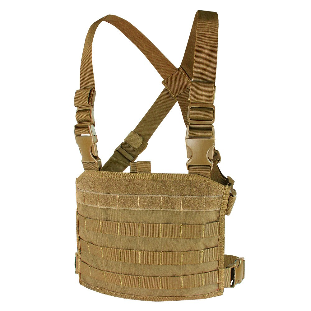 Vesta taktická MOLLE CHEST RIG PANEL COYOTE BROWN