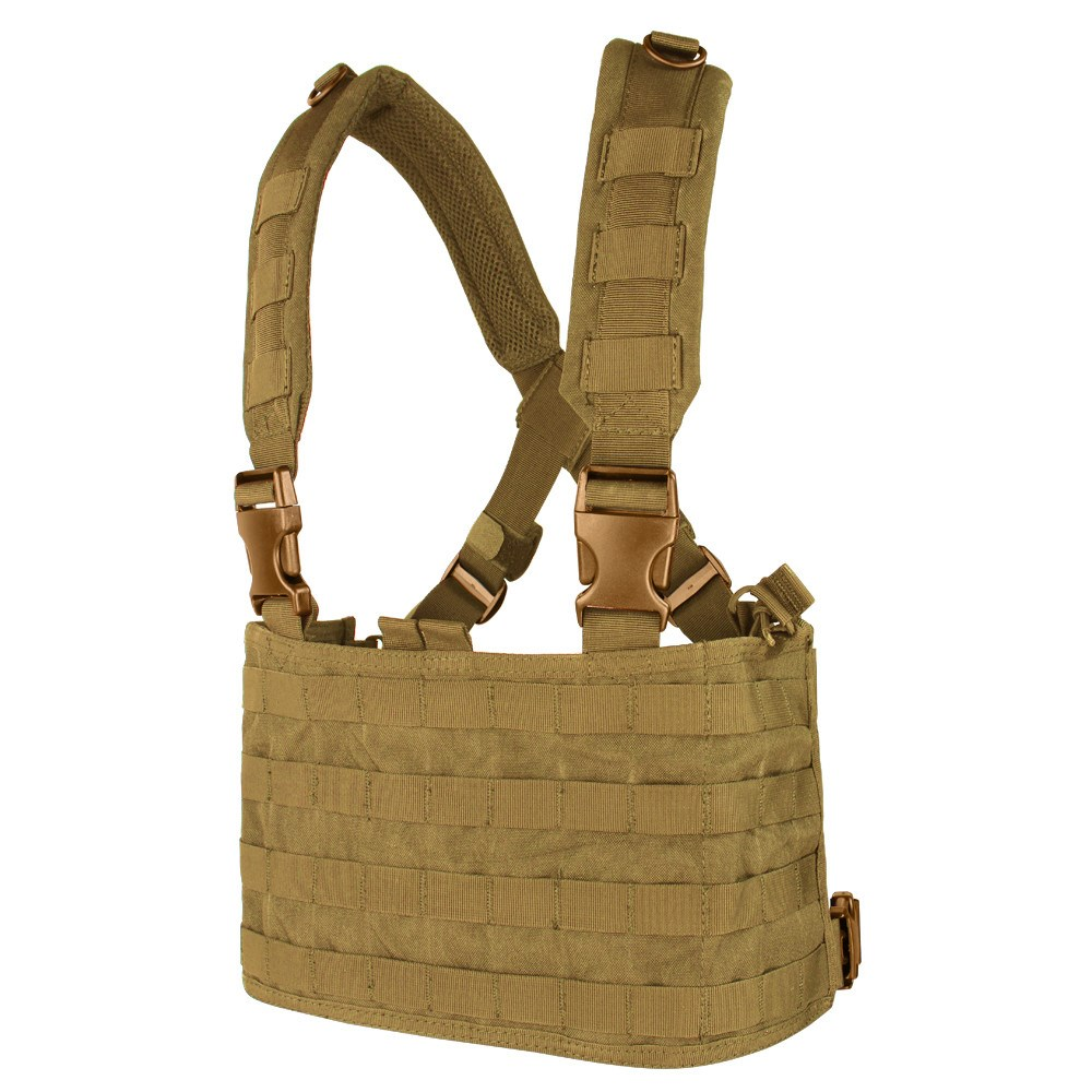 Vesta taktická MOLLE CHEST RIG OPS COYOTE BROWN