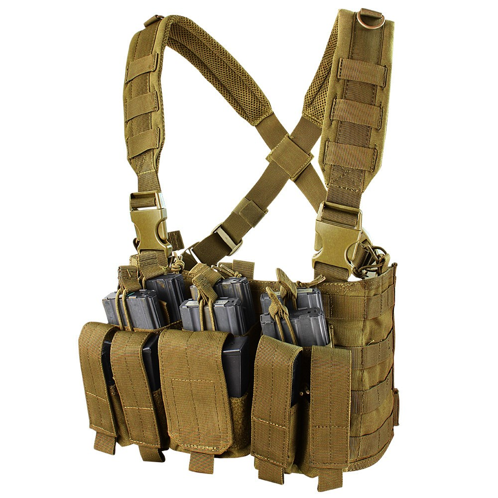 Vesta taktická RECON CHEST RIG COYOTE BROWN