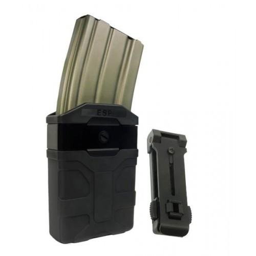 ESP Pouzdro rotační na zásobník AR15/M16/M4 ČERNÉ