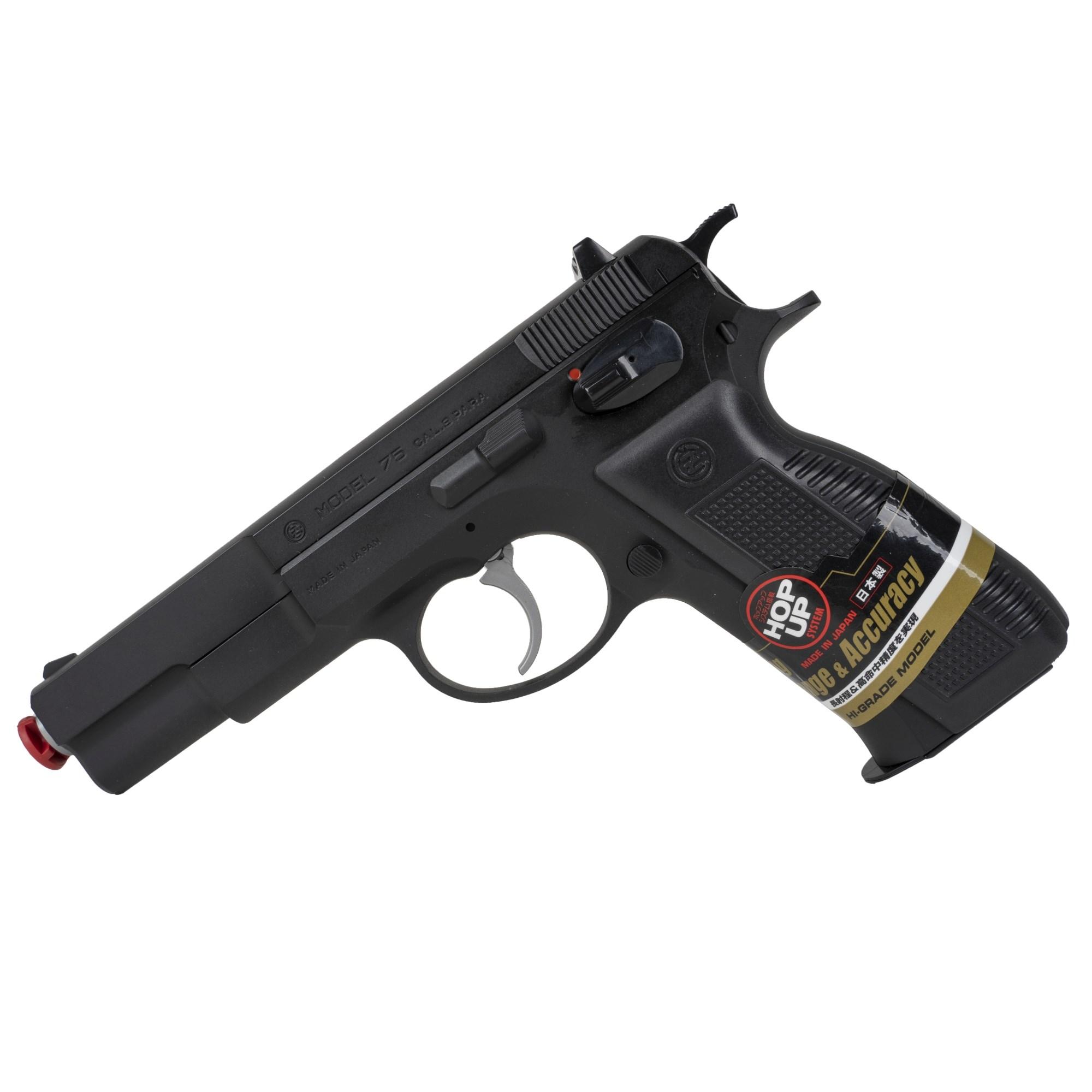 Pistole airsoft manuální CZ 75 ČERNÁ TOKYO MARUI 621083-0013239-3500 L-11