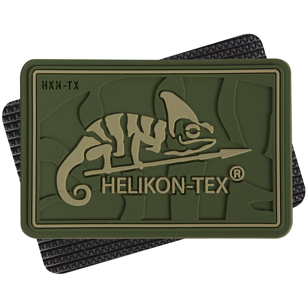 Nášivka HELIKON-TEX velcro plastová ZELENÁ