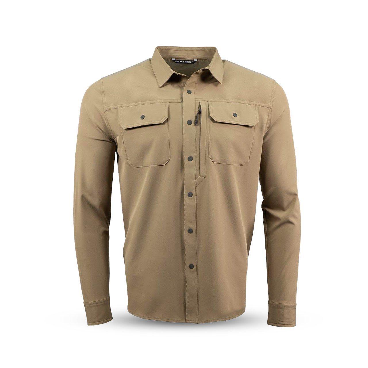 Košile OWYHEE FIELD DRY EARTH EBERLESTOCK OFE L-11