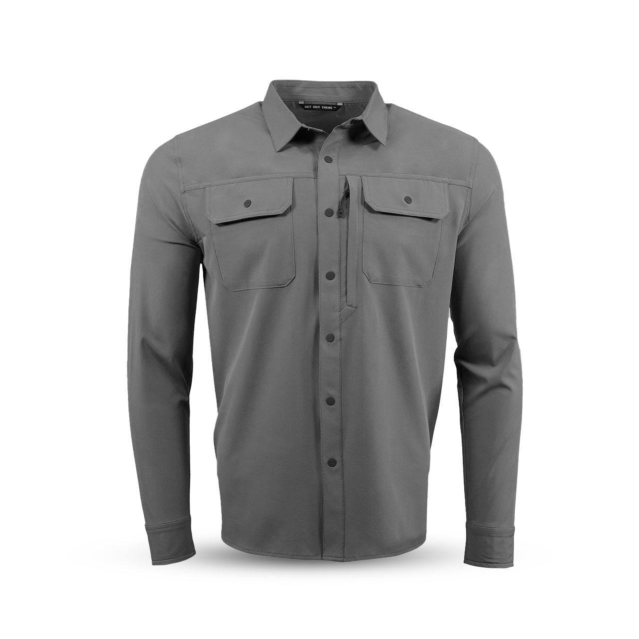 Košile OWYHEE FIELD GUNMETAL EBERLESTOCK OFT L-11