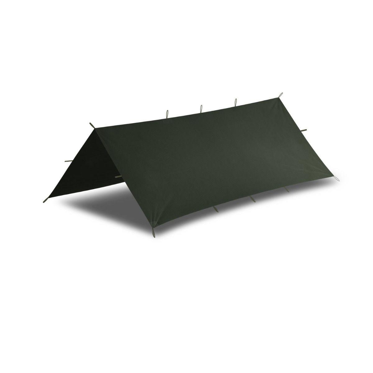 Plachta bivakovací SUPERTARP® malá OLIVE GREEN