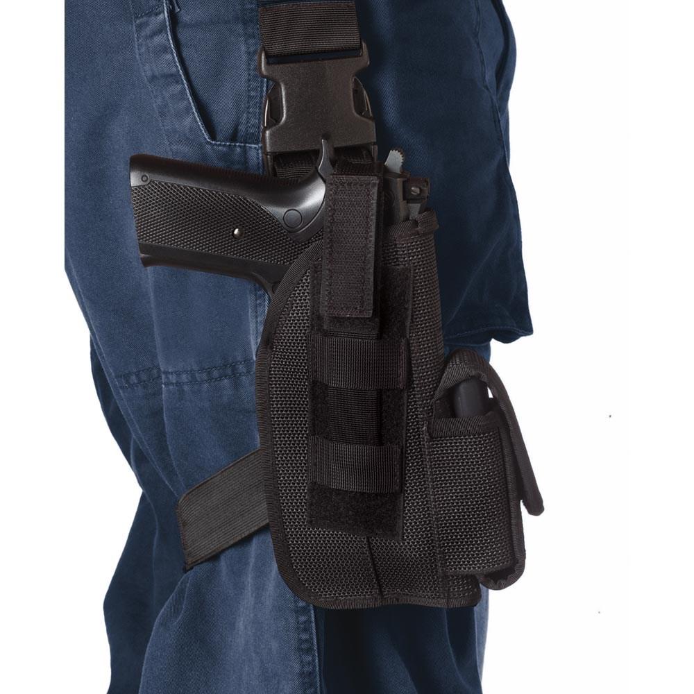 ROTHCO Pouzdro pistolové stehenní GLOCK 17 ČERNÉ