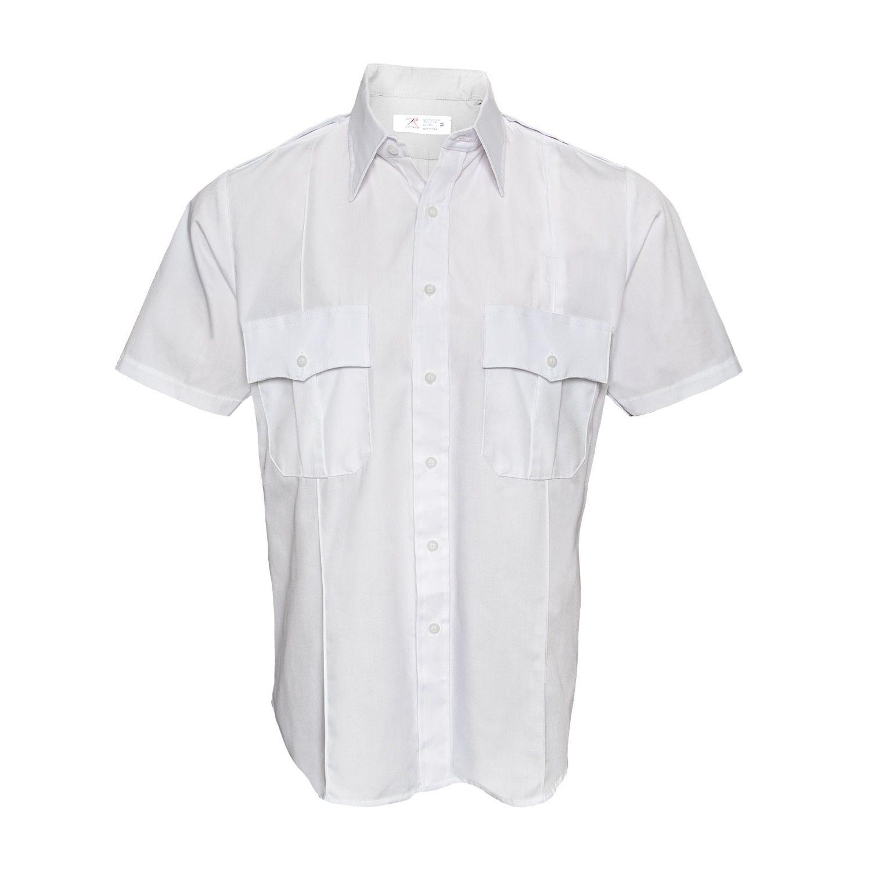 Košile POLICIE A SECURITY krátký rukáv BÍLÁ ROTHCO 30015 L-11