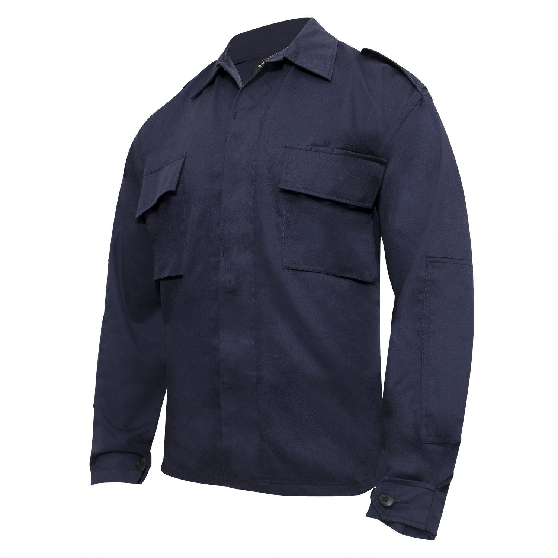 Košile taktická BDU dlouhý rukáv NÁM.MODRÁ ROTHCO 6110 L-11