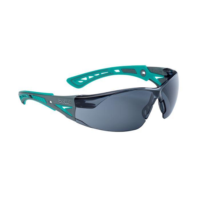 Brýle ochranné RUSH+ SMALL TYRKYSOVÉ KOUŘOVÉ