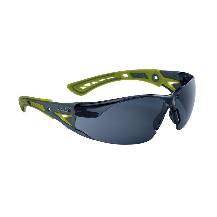 Brýle ochranné RUSH+ SMALL ZELENÉ KOUŘOVÉ