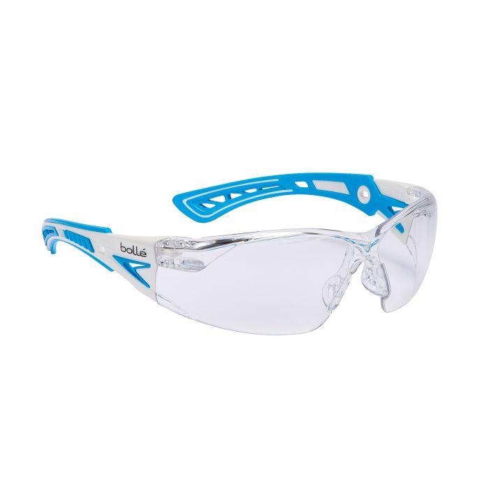 Brýle ochranné RUSH+ SMALL MODRÉ ČIRÉ