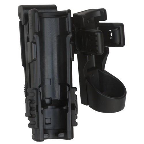 """Pouzdro rotační plastové MOLLE pro telesk. obušek 16,18,21"""" a svítilnu"""