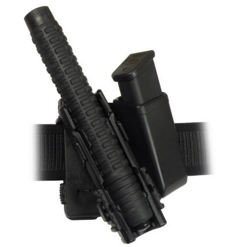 """Pouzdro rotační plastové MOLLE pro telesk. obušek 16,18,21"""" a zásobník"""