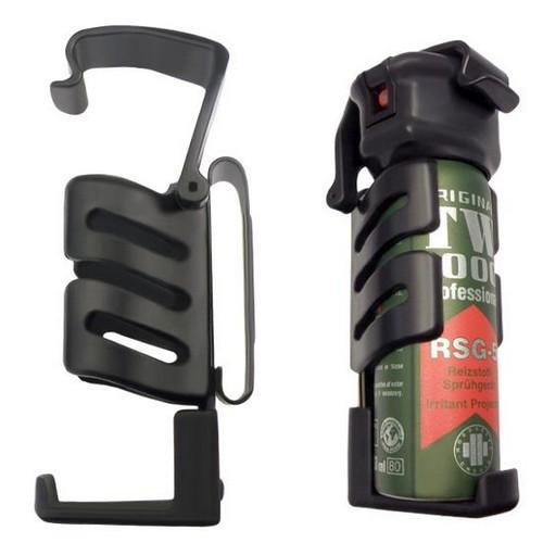 Pouzdro pro obranný sprej 75-100 ml s kovovým klipem