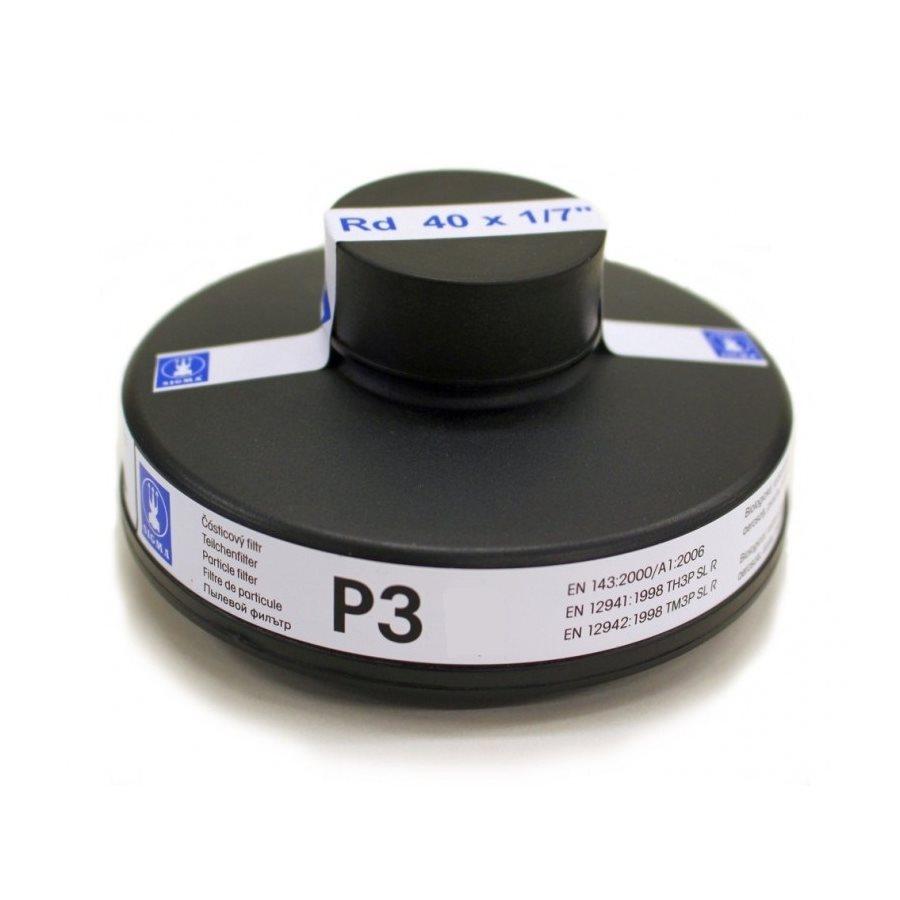 Filtr částicový pro plynové masky SIGMA P3 EN143 závit 40x1/7 SIGMA 184017 L-11