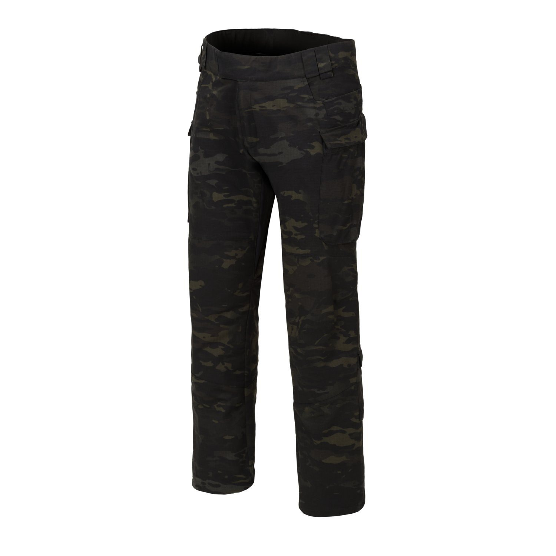 Kalhoty MBDU® NYCO rip-stop MULTICAM® BLACK™ Helikon-Tex® SP-MBD-NR-0C L-11