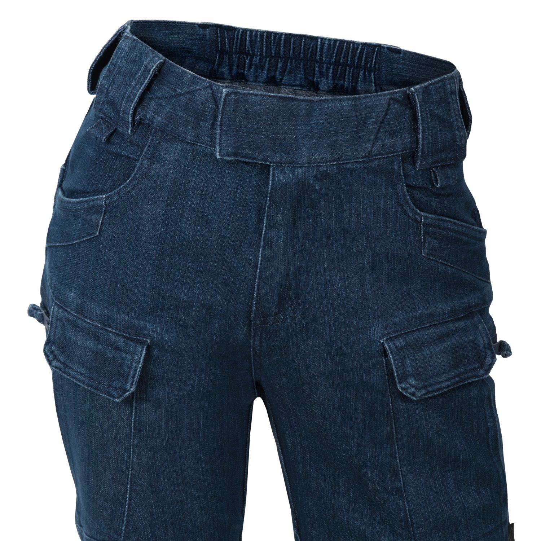 Kalhoty dámské UTP® DENIM STRETCH MARINE BLUE Helikon-Tex® SW-UTR-DS-97 L-11