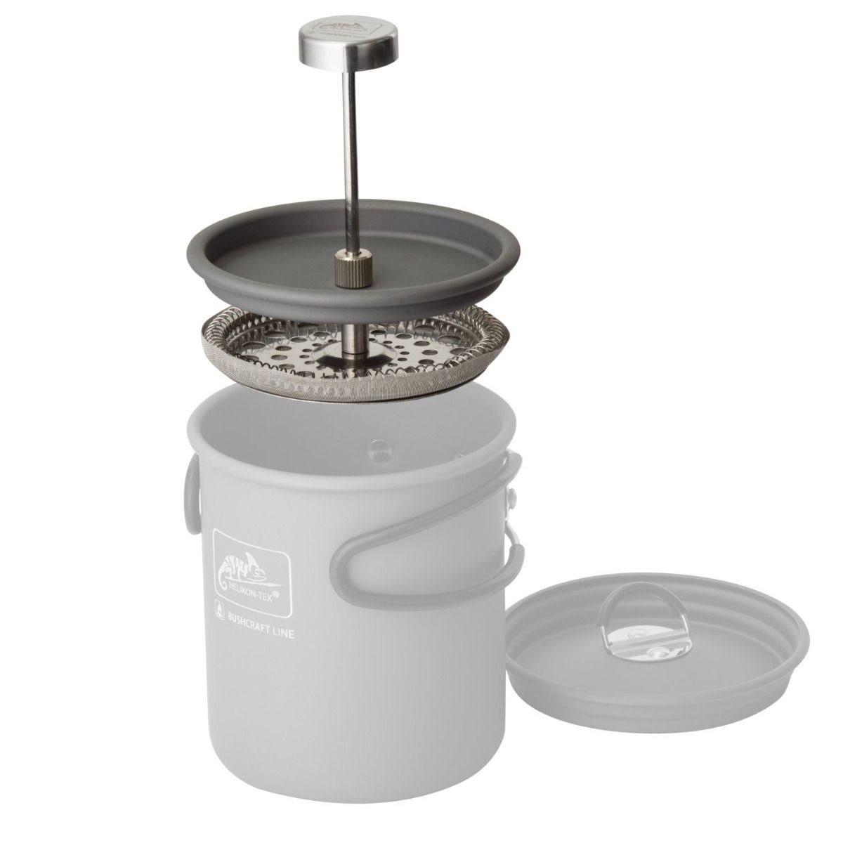 Sítko na přípravu kávy FRENCH PRESS Helikon-Tex® TK-CFP-SS-15 L-11