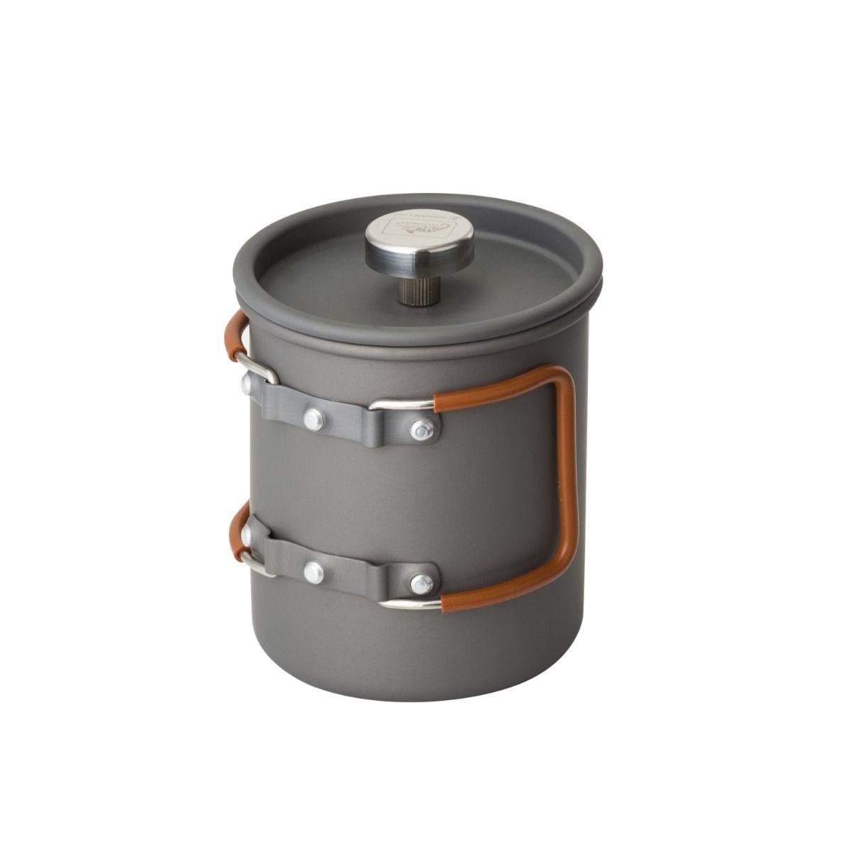 Konvice CAMP se sítkem FRENCH PRESS 600 ml ŠEDÁ Helikon-Tex® TK-FPC-AL-19 L-11