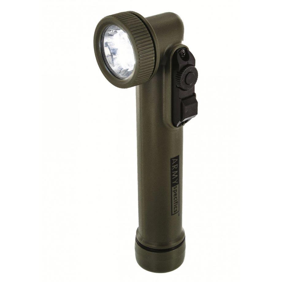 Svítilna GI fajfka 6 LED (3 bílé + RGB) ZELENÁ