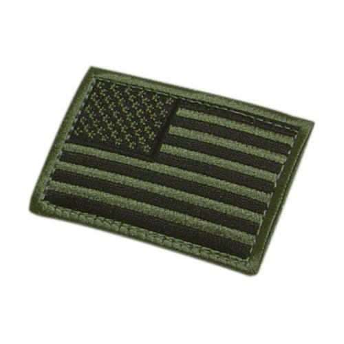 Nášivka vlajka US OLIV