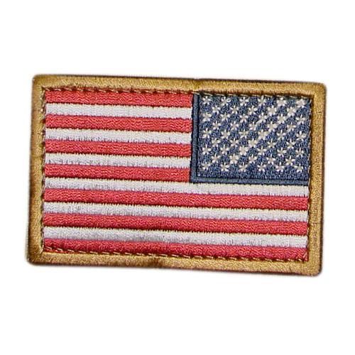 Nášivka vlajka US revers BAREVNÁ