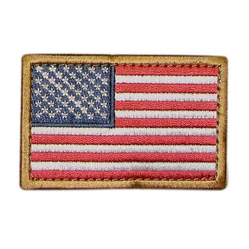 Nášivka vlajka US BAREVNÁ