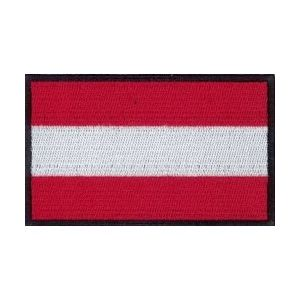 Nášivka vlajka RAKOUSKO