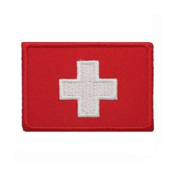 Nášivka vlajka ŠVÝCARSKO